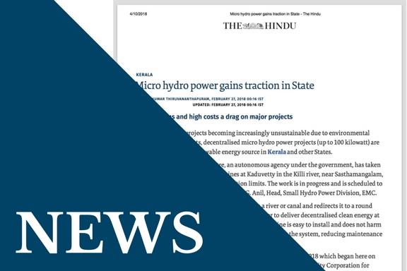 vortex micro hydro power plant news – The Hindu